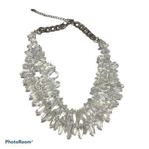 Zara statement necklace multi strand graduating